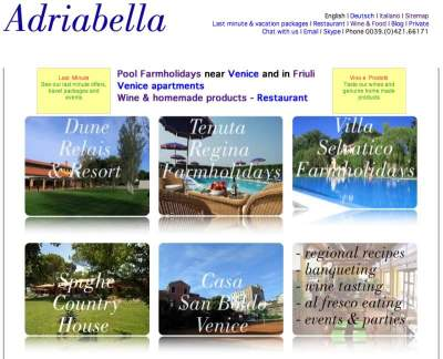 Adriabella english home